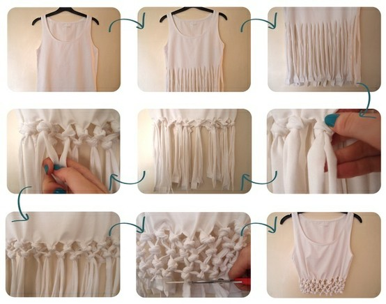 passo a passo customização de camiseta