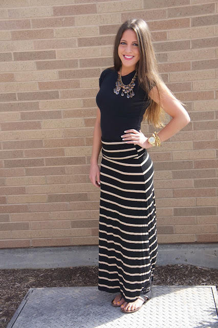 simplicity with maxi skirts