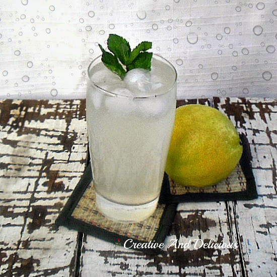 Sparkling Mint Lemonade ~ BEST lemonade !  #Lemonade #Drinks #MintLemonade