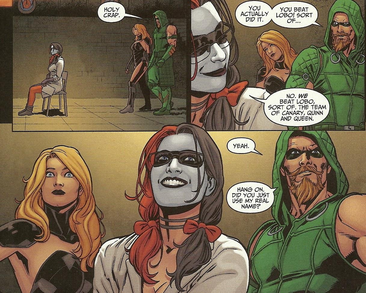 Green Arrow and Harley Quinn  Green Arrow  Green arrow