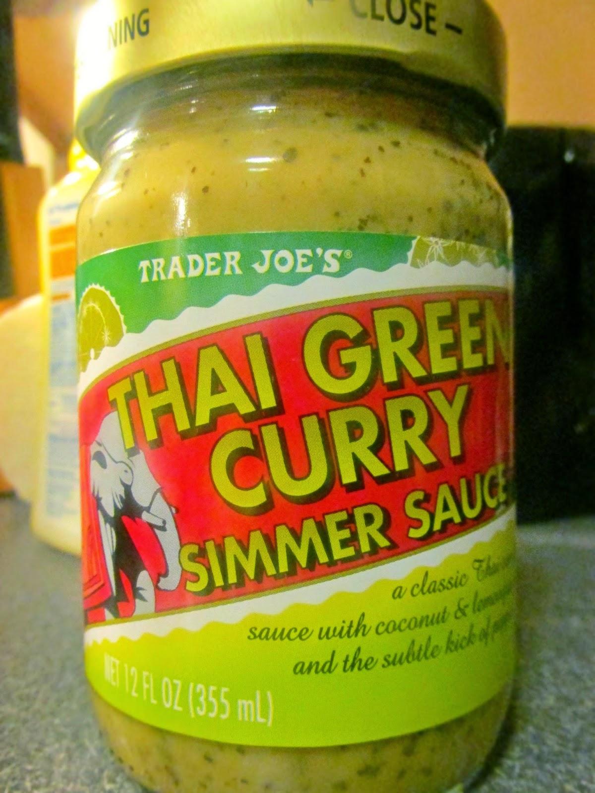 The rookie cookbook motd trader joe 39 s thai green curry for Trader joe s fish sauce