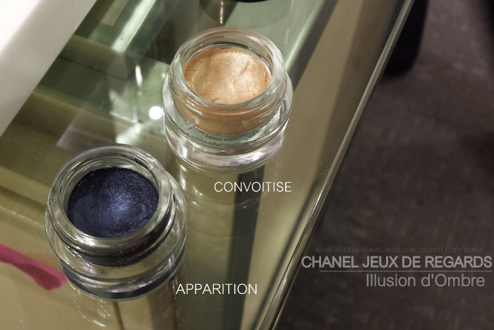 Chanel Jeux de Regards Makeup Collection Cream Eyeshadow Illusion DOmbre Convoitise Apparition Indian Beauty Blog