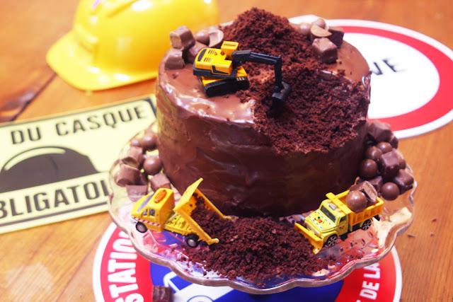 Recette Layer Cake Chantier