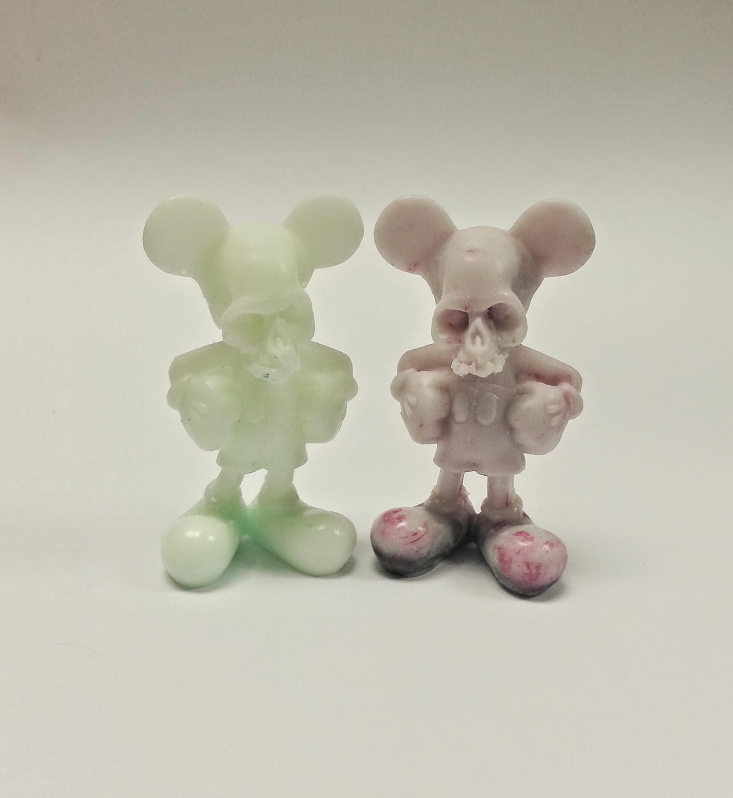"""Deadey Mouse"" Bootleg Disney Resin Figure by Motorbot"