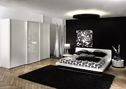 white modern wardrobes for contemporary bedroom design by huelsta