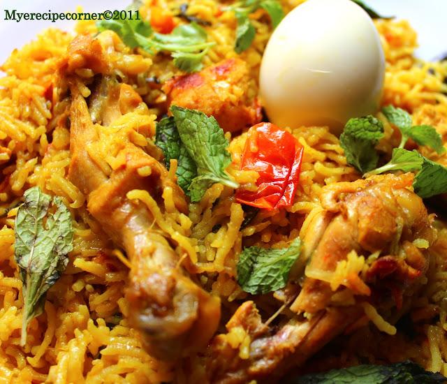 Chicken biryani muslim style - photo#26