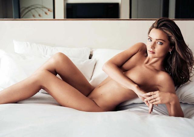 Miranda Kerr sigue desnuda