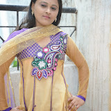 Usha Photos in Salwar Kameez at Gundello Guchi Guchi Champake Movie Press Meet 33