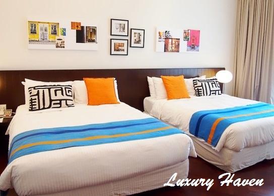 lone pine hotel penang premier room queen beds