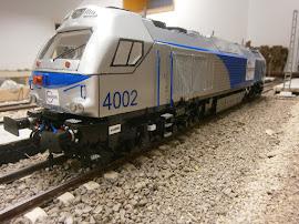 EURO 4000 DE VOOSLOH SERIE 335