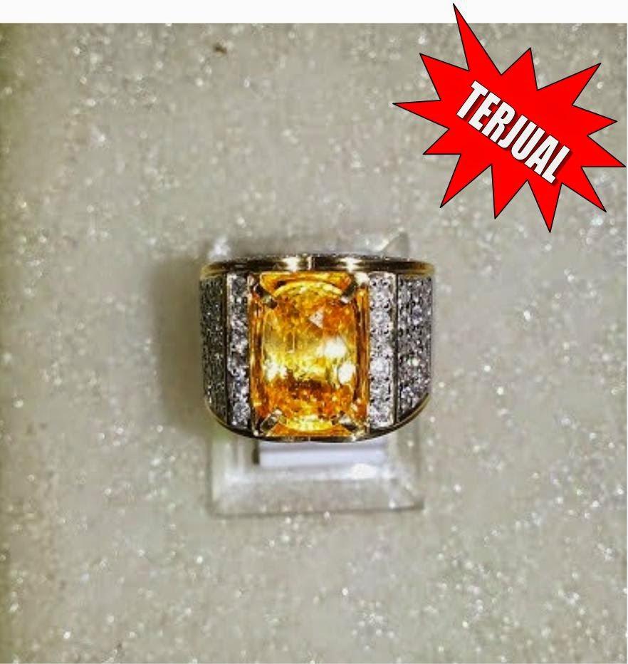 Natural Yellow Sapphire Srilanka 6 27 Cts Pusat Batu