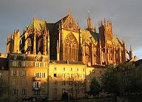 Tempat Wisata Di Perancis - Metz Cathedral - Saint-Étienne de Metz