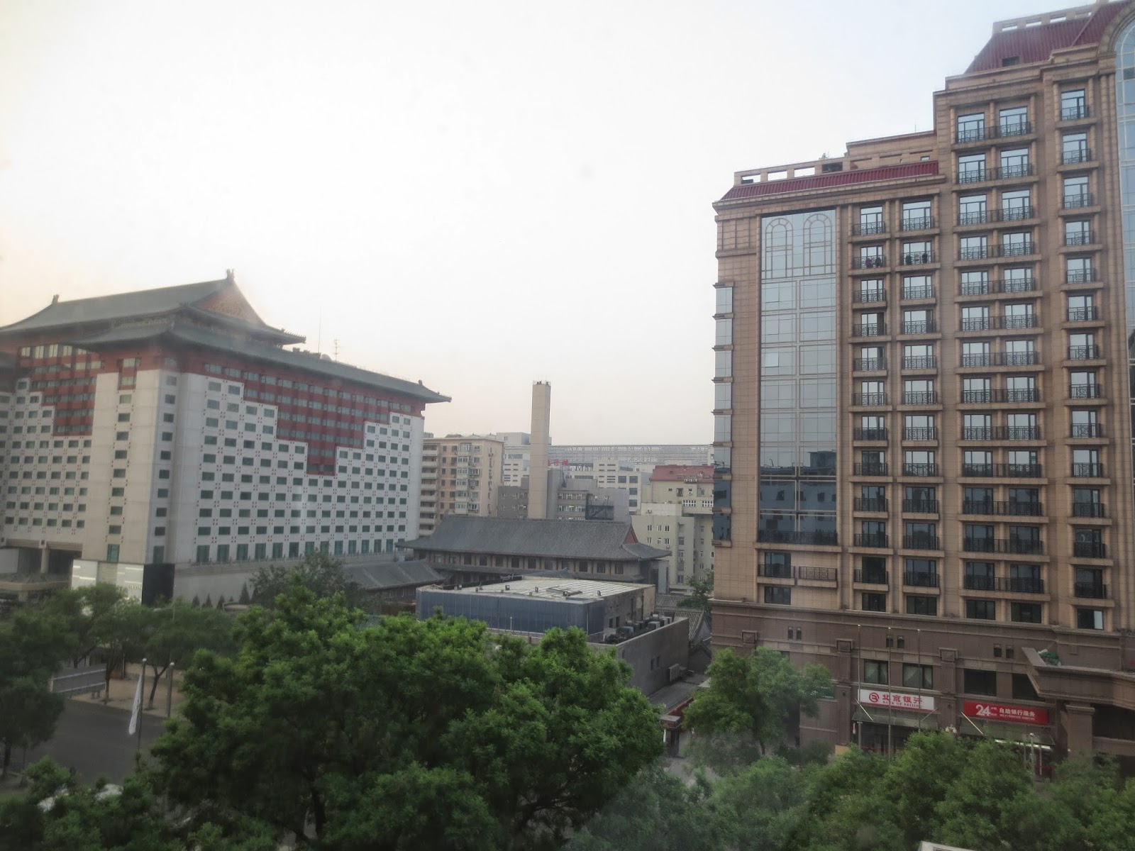 Novotel Beijing Peace Hotel Room View