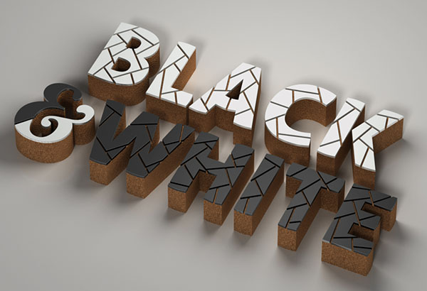 Create a 3D Mosaic Cork Text Effect With Filter Forge and Adobe Photoshop