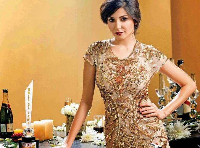 Anushka Sharma in Hello India Magazine