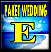 WEDDING PAKET E