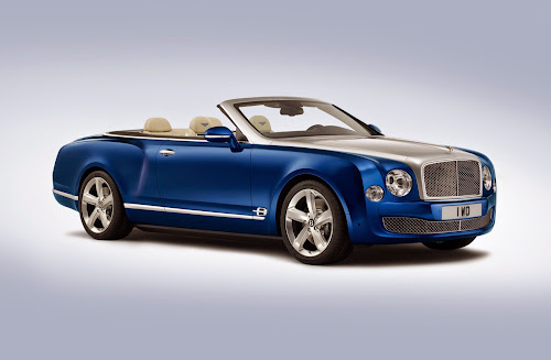 Novo Bentley Mulsanne Grand Convertible