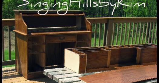 Singinghillsbykim Roll Top Desk Makeover