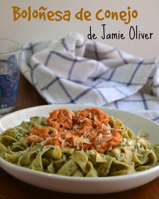 Boloñesa De Conejo (de Jamie Oliver) Para El Desafío En La Cocina.    Cuuking! Recetas De Cocina
