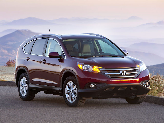 Honda CR-V Wallpaper Front Angle