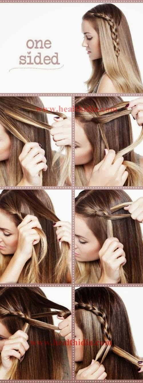 ... Best School and College Girls Hairstyles with Tutorials for Girls