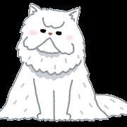 ペルシャ猫のイラスト(猫)