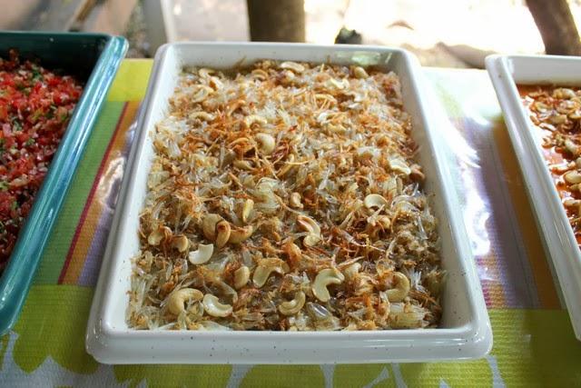 Pomelo salad Thai food