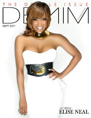 Elise Neal et DB Woodside en couv' de Denim Magazine