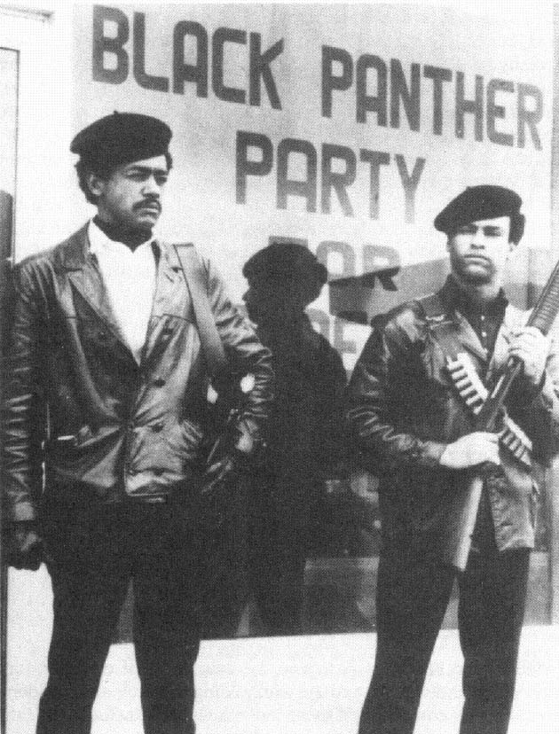a history of the black panther party Black panther party co-founder encourages political, legislative  of the black  panther party in 1966, the party's use of guns and its origins.