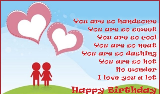 Happy Birthday Wishes Messages Greetings QuotesPictures – Birthday Greeting for Boyfriend
