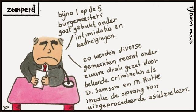 Zomperd - Bedreiging burgemeesters