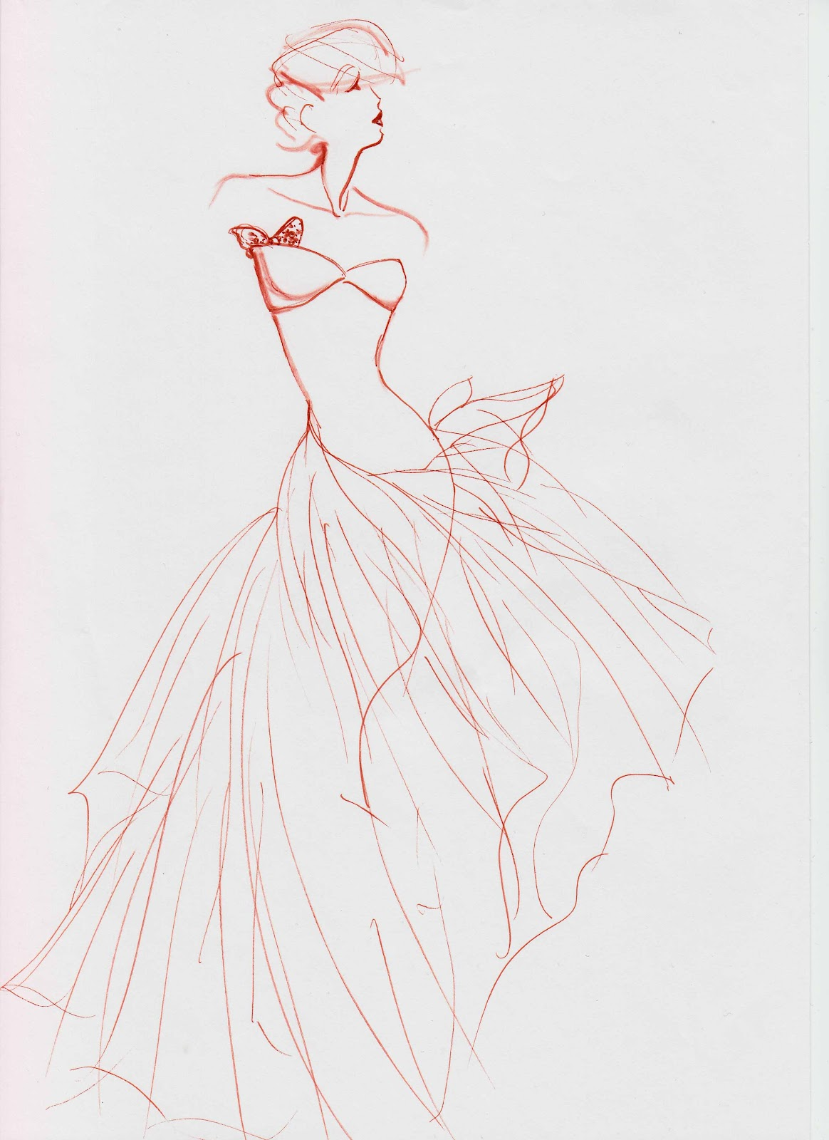 Styliste illustrateur croquis haute couture ii for A haute couture