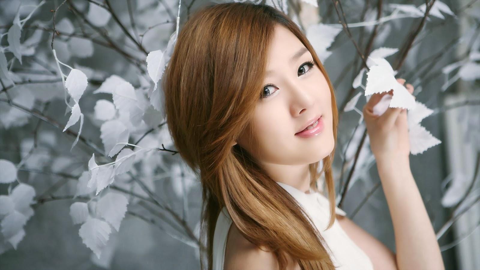 cute korean girl - mobile wallpapers