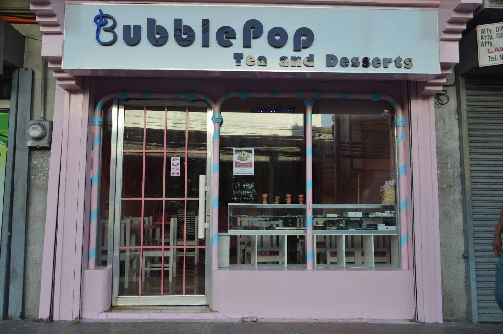 BubblePop Tea and Dessets