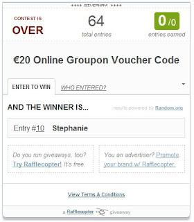 Groupon Giveaway!