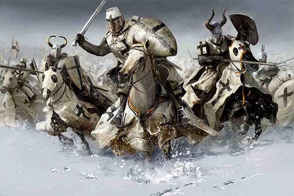 Estratégia militar que deu errado russos vs Cavaleiros Teutônicos