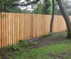 Home improvement most common privacy fence designs - Most frequent fence materials ...