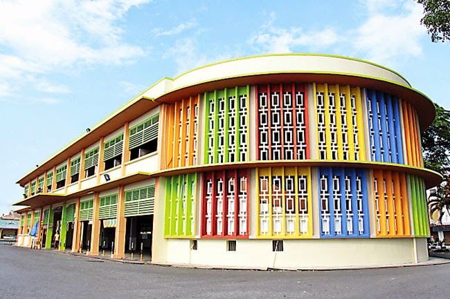 Kuala Belait Brunei  city pictures gallery : Kuala Belait Old Market Building Facelifted
