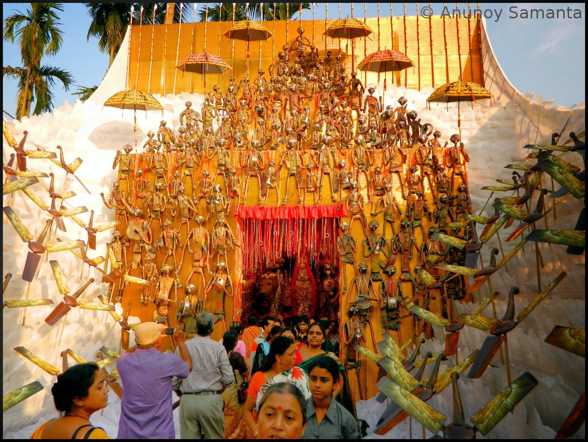 Jagadhatri Puja of Chandannagar