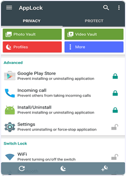 android AppLock app