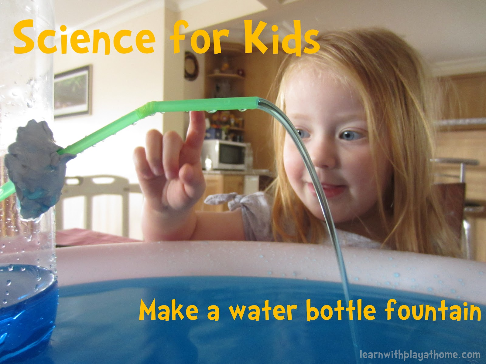 Learn with play at home science for kids water bottle for Fun projects for kids to do at home