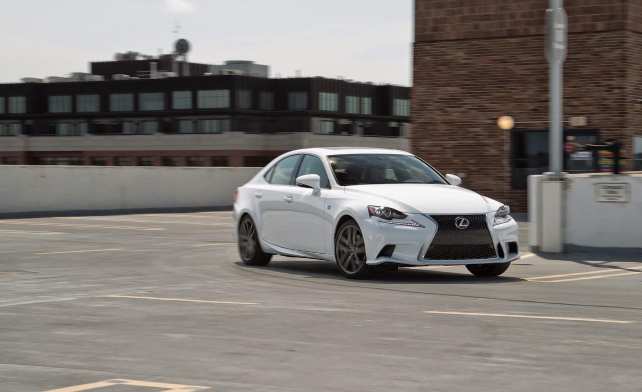 supercars: 2014 lexus is250 f sport awd