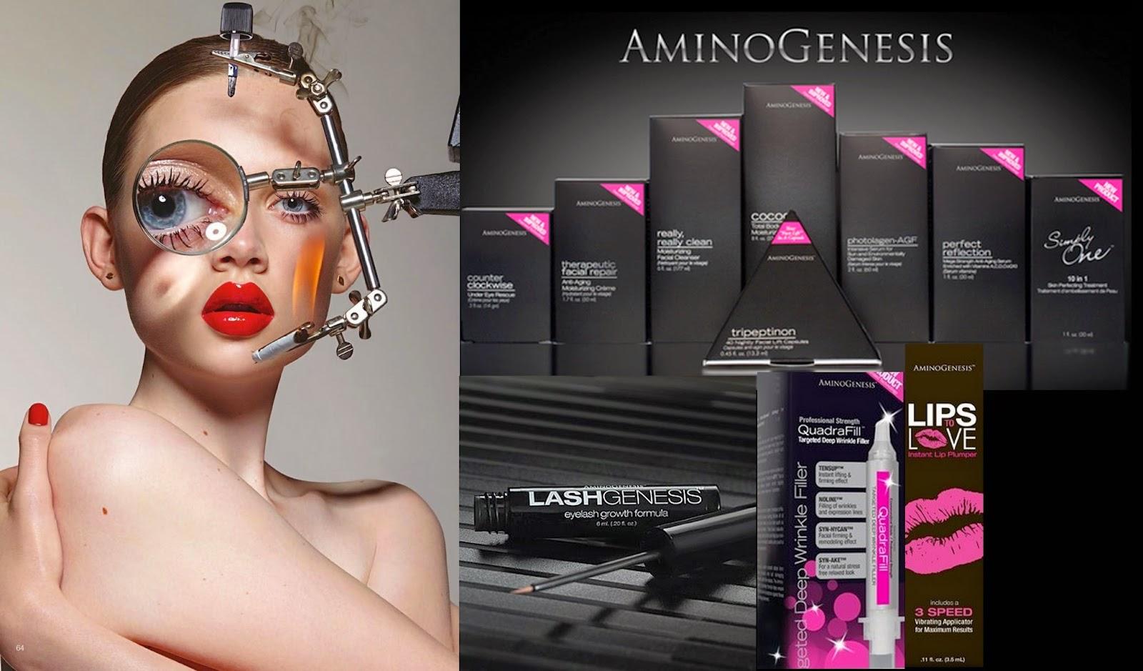 Amino Acids in skincare AminoGenesis