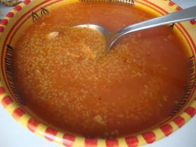 Sder (soupe tunisienne à la semoule)