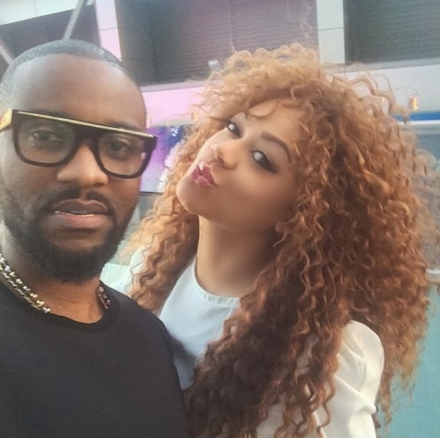 Nollywood By Mindspace Nadia Buari Hangs Out With Fally