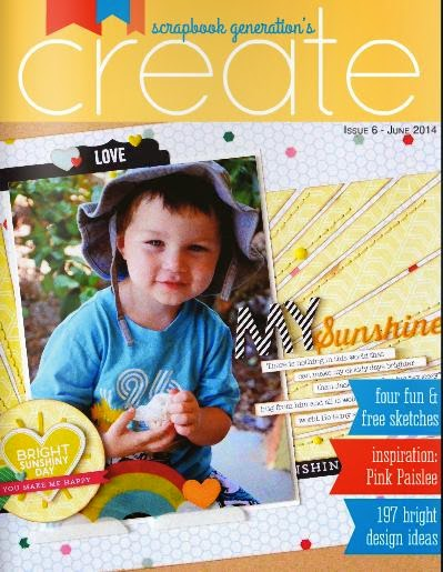 Scrapbook Generations CREATE magazine