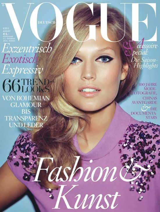 Vogue Germany august 2012 cover