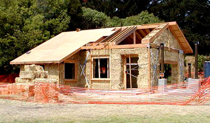 Fatto da te case di paglia for Come costruisco una casa
