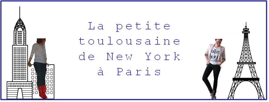 La petite toulousaine...  NYC!
