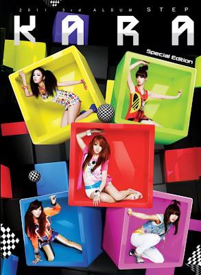KARA Step members colorful